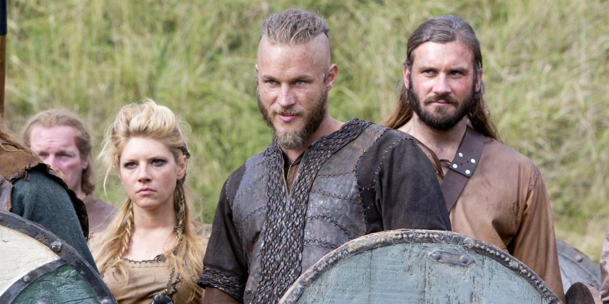 Vikings Katheryn Winnick Lagertha Travis Fimmel Ragnar Lothbrok Clive Standen Rollo History