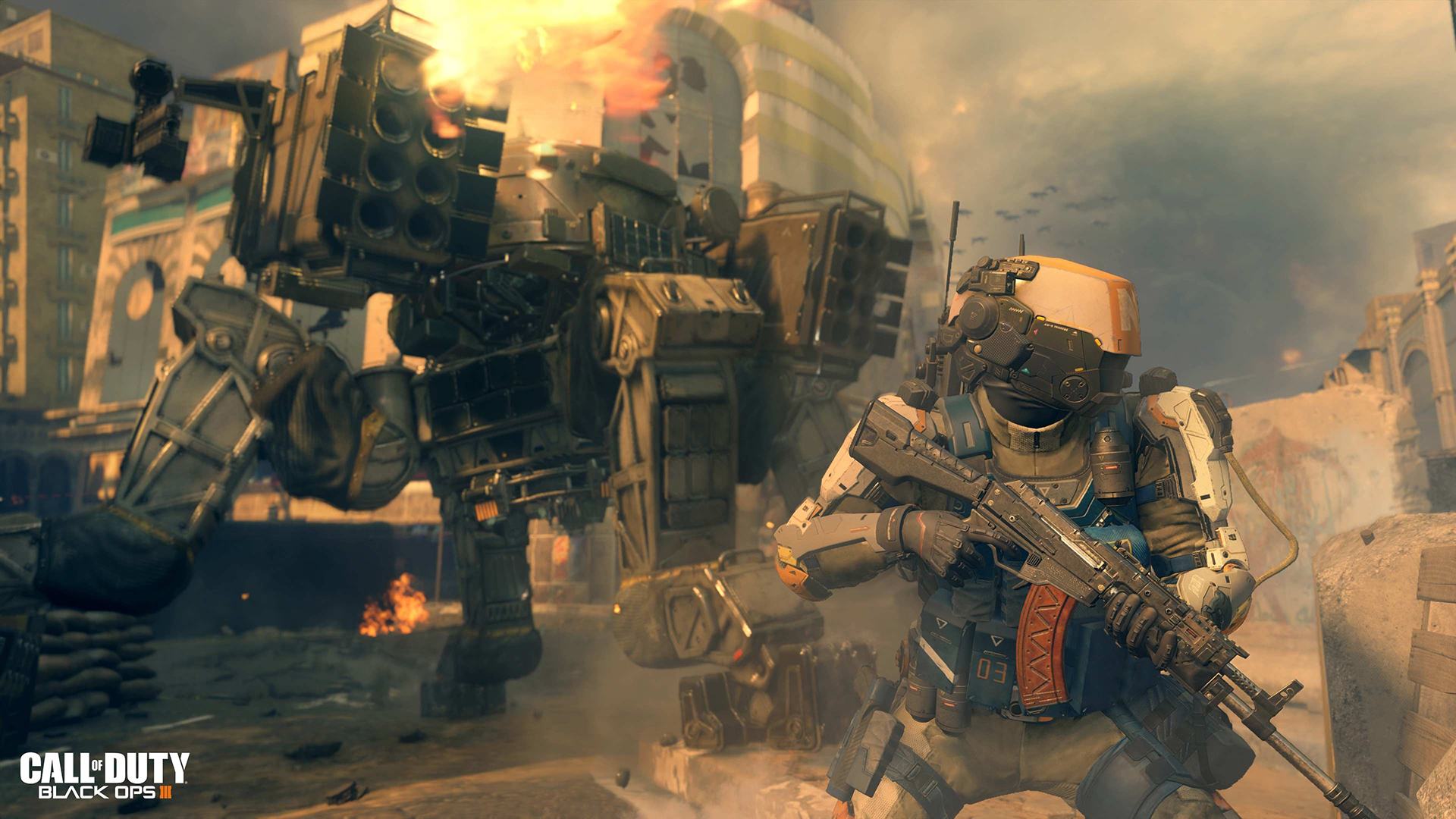 Call Of Duty: Black Ops 3 Screenshots Introduce Super-Soldiers And Robots  #32758