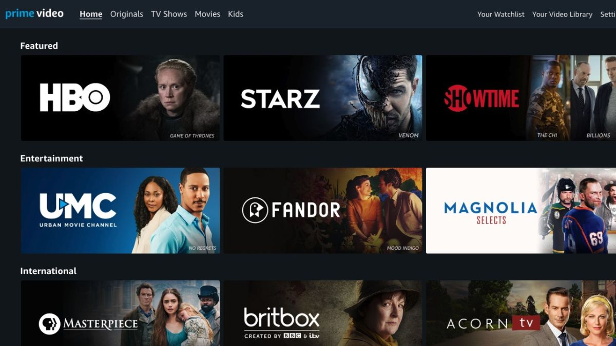 Amazon Channels: What It Is, How to Get Them | Tom's Guide