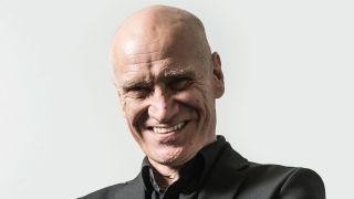 Former Dr Feelgood guitarist Wilko Johnson smiling