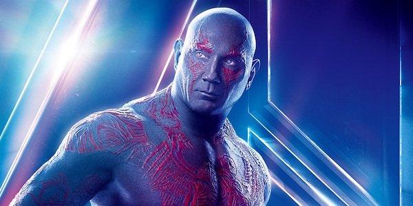 Drax's Infinity War poster