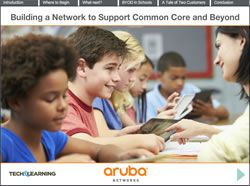 Building a Network to Support Common Core and Beyond