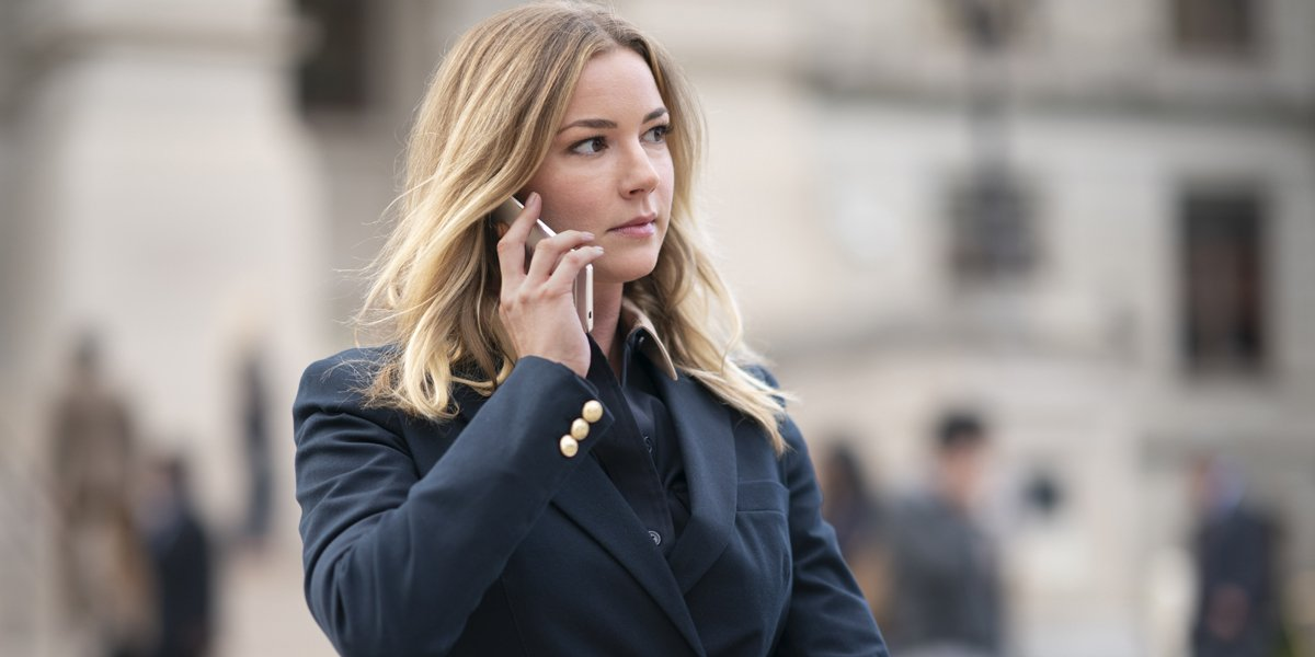 Sharon Carter on the phone post credits The Falcon And The Winter Soldier