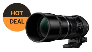 Save £560 on the Olympus 300mm f/4 Pro lens!