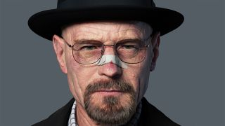 Realistic 3D portraits: Walter White