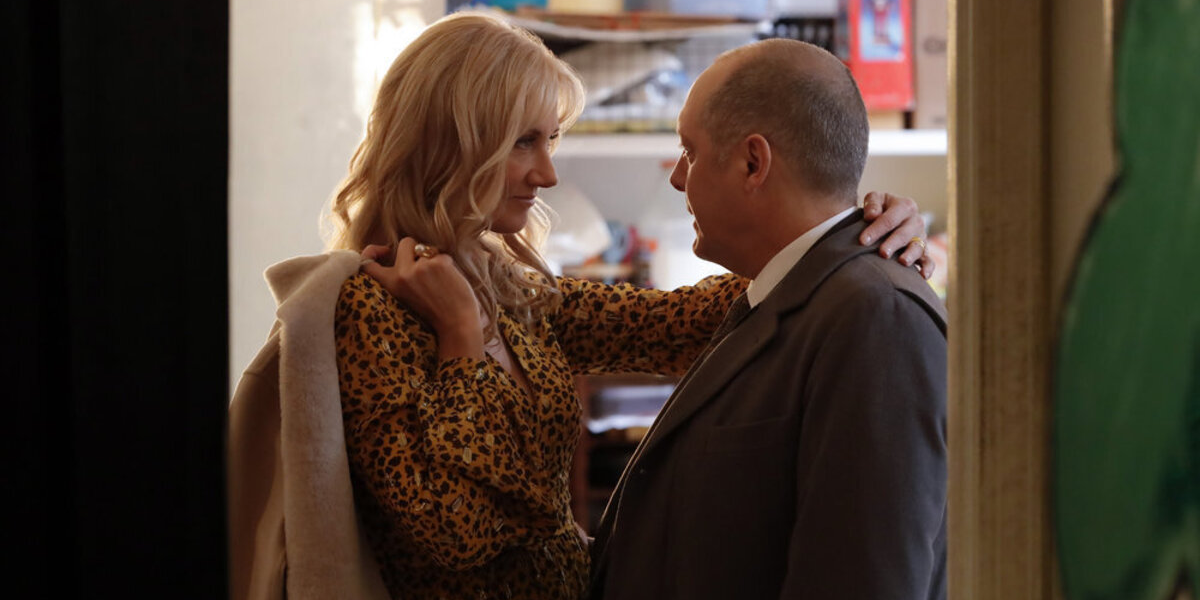 The Blacklist Joely Richardson Cassandra Bianchi James Spader Raymond Red Reddington NBC