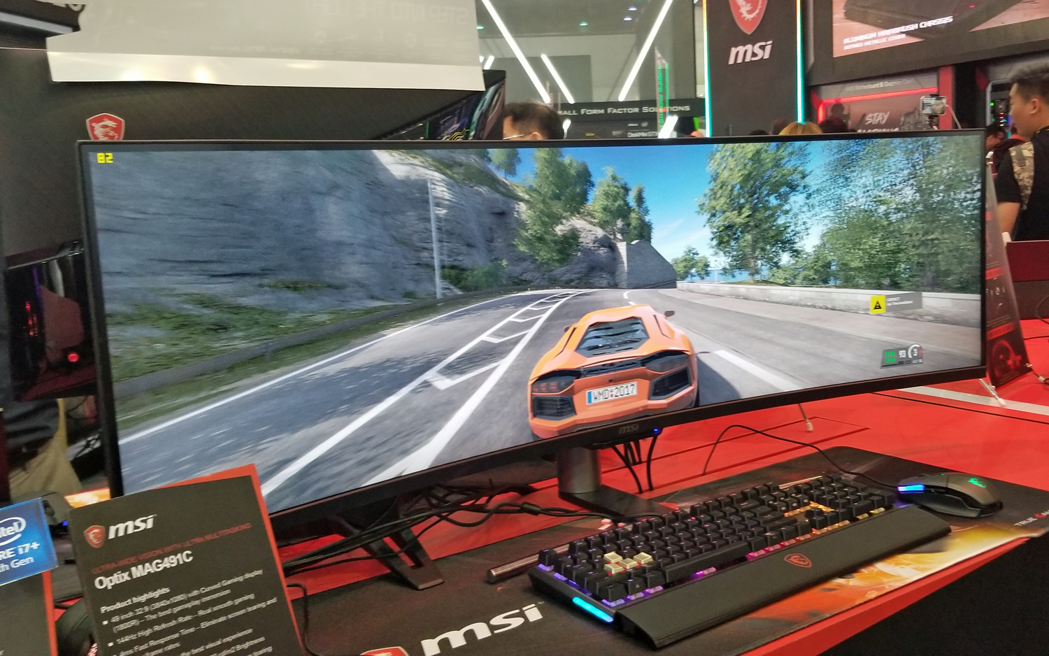 MSI's Eye-Popping, 49-inch Curved Display Can Be Two