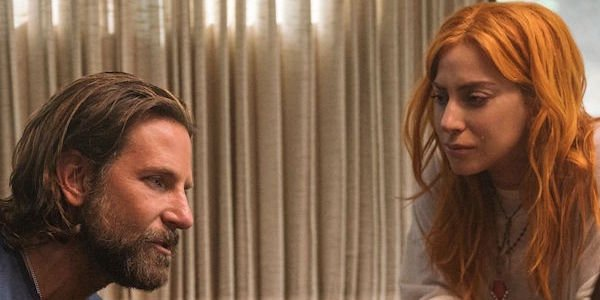 Gaga and Bradley Cooper in A Star Is Born