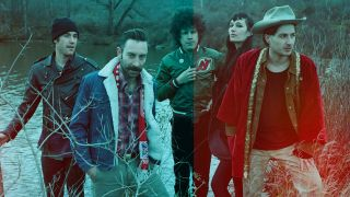 A press shot of Black Lips