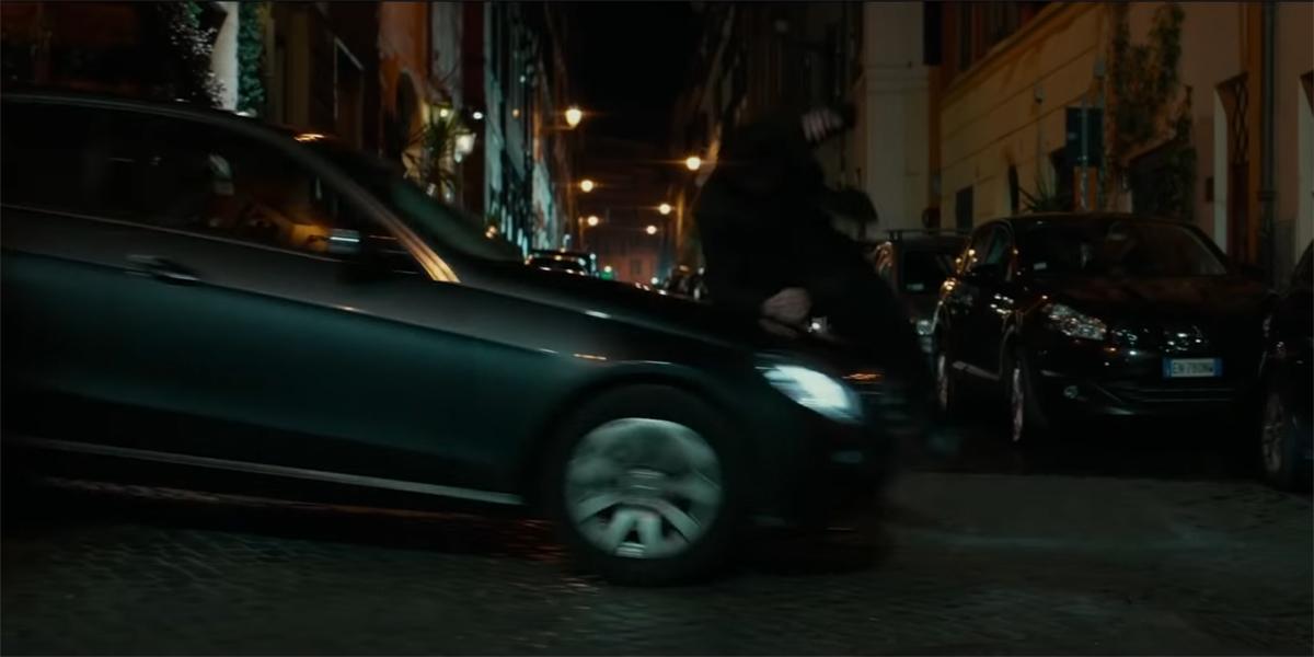 John Wick hit by car