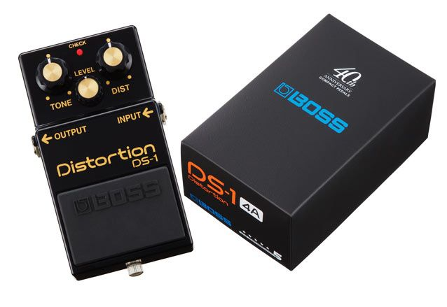 namm 2017 boss announces limited edition ds 1 4a distortion pedal guitarworld. Black Bedroom Furniture Sets. Home Design Ideas