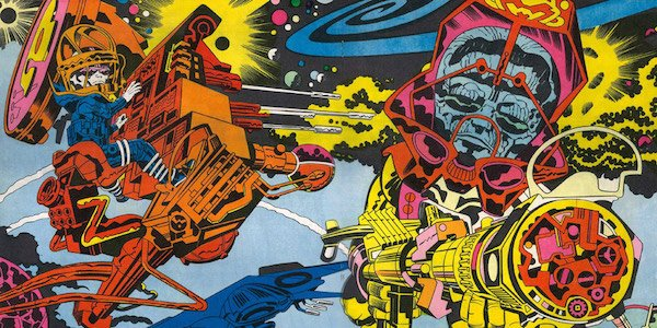 Jack Kirby art Marvel Comics