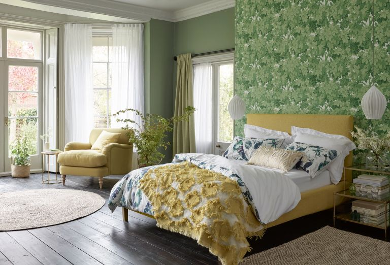How To Wallpaper A Wall Real Homes