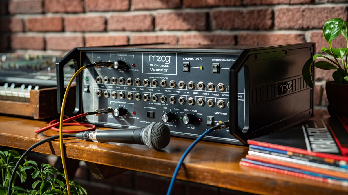 After 40 years, Moog is back with a $5,000 reboot of its 16 Channel Vocoder