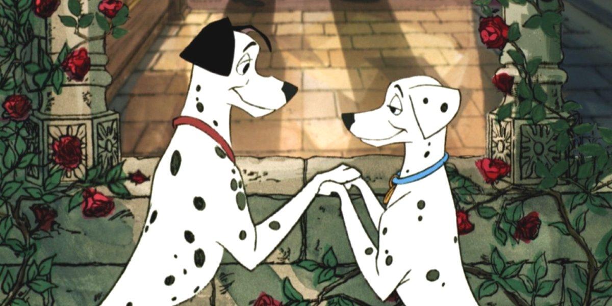 Pongo and Perdita in 101 Dalmatians