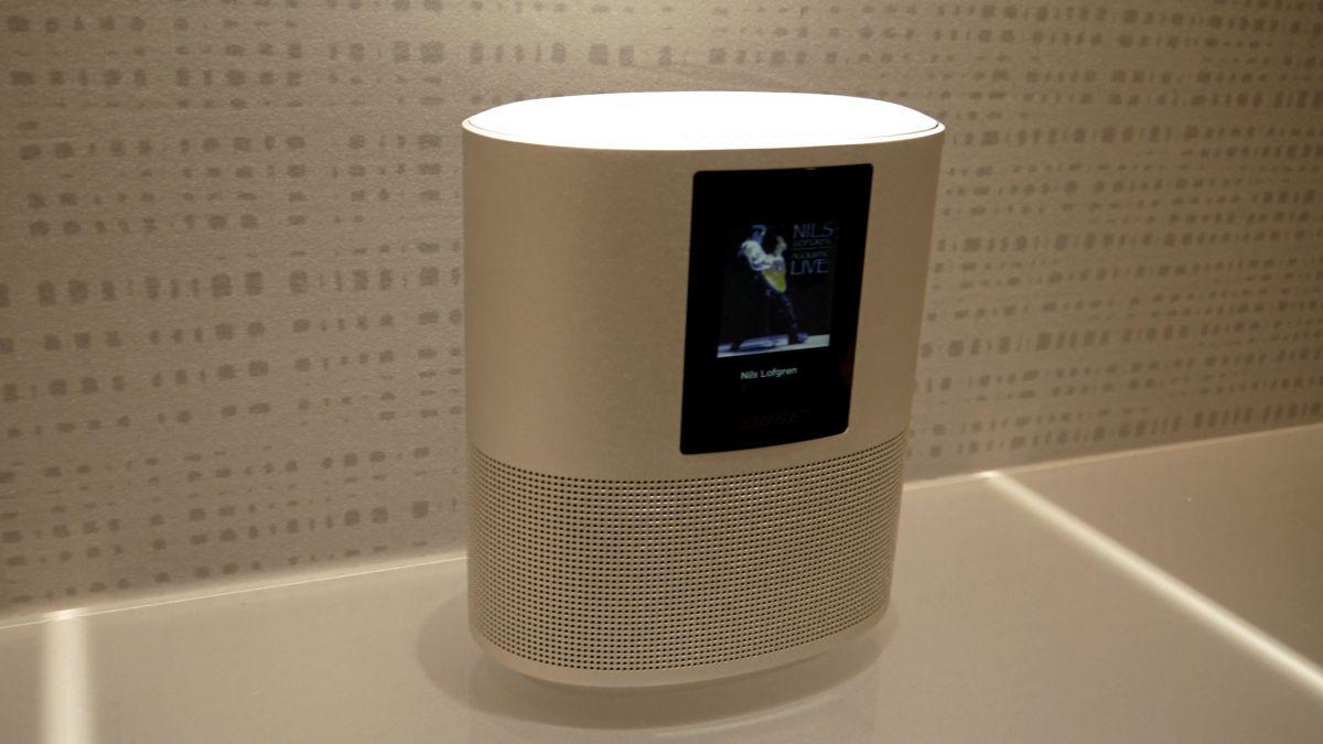 Bose Car Speakers >> Bose Speaker 500 hands on review | TechRadar
