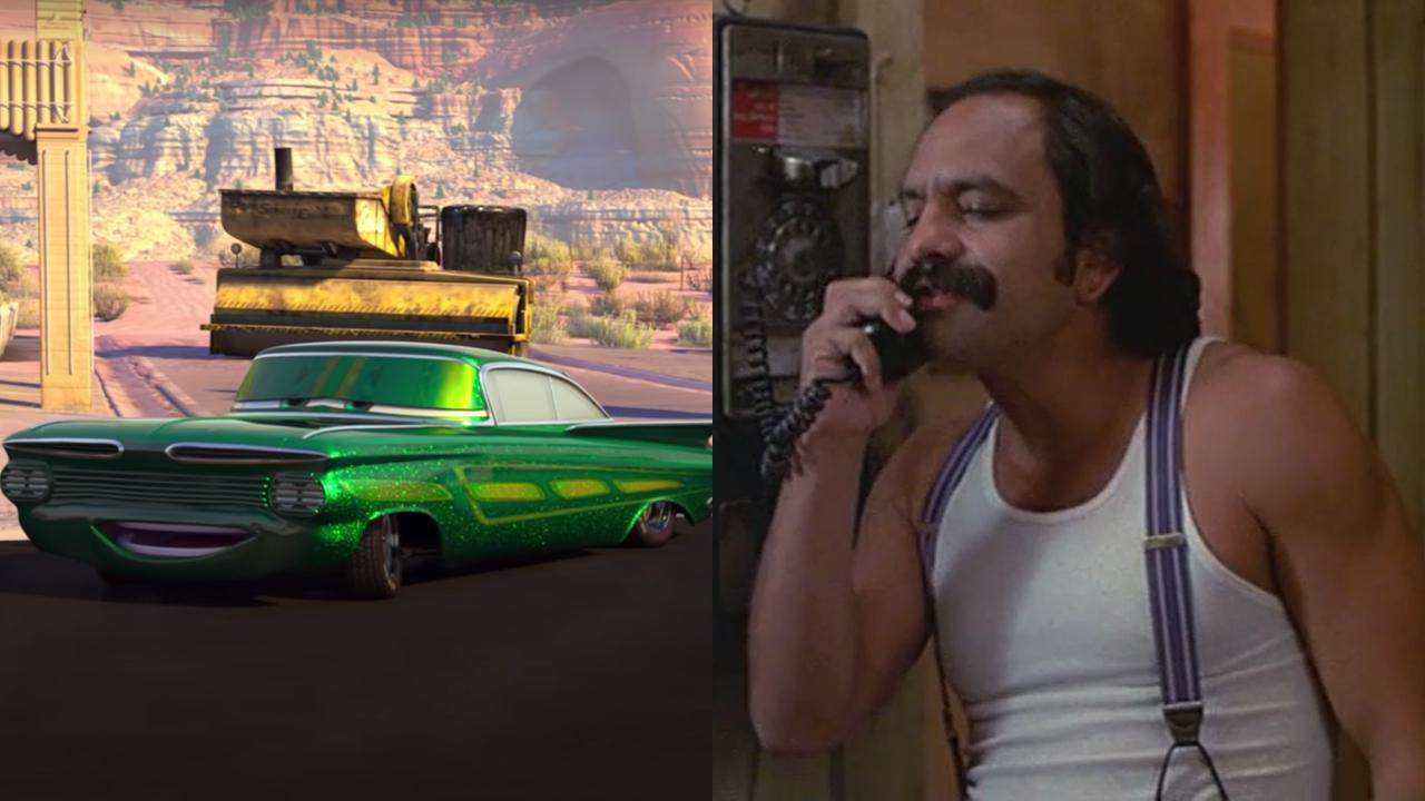 Ramone in Cars; Cheech Marin in Cheech and Chong's Next Movie