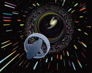 Utilizing a Wormhole to Travel