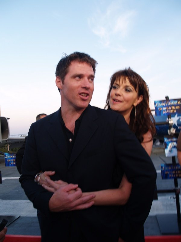 Comic Con: Aircraft Carrier Premiere Of Stargate Continuum #2822