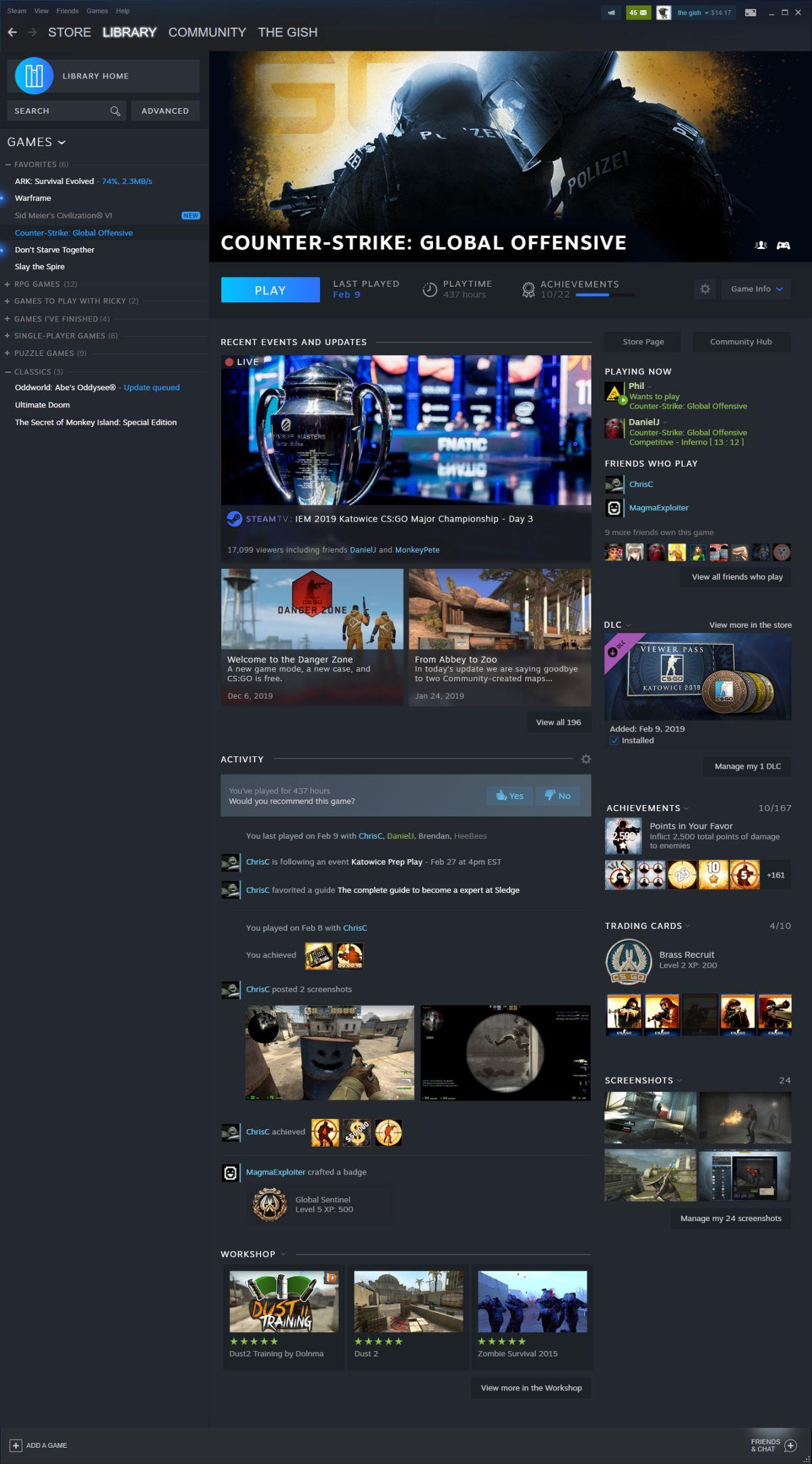 Steam Game Launcher