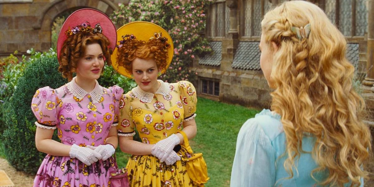 Cinderella's stepsisters in Disney's 2015 remake