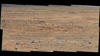 Darwin' Outcrop at 'Waypoint 1' of Curiosity's Trek to Mount Sharp