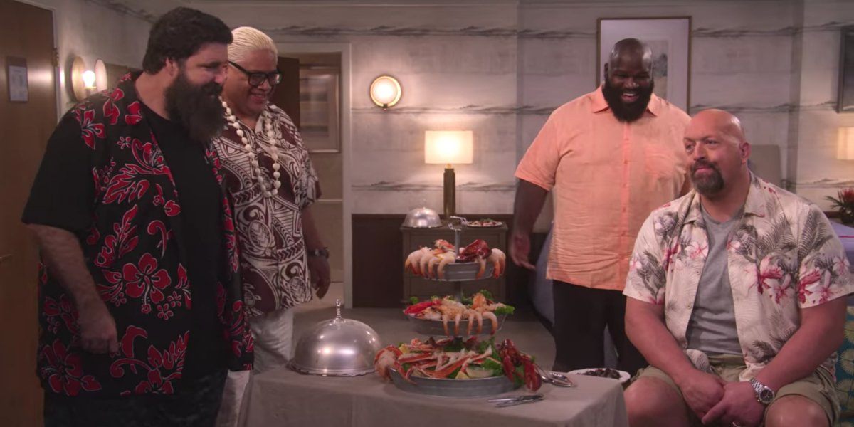 Mick Foley, Rikishi, Mark Henry, and Big Show in The Big Show Show
