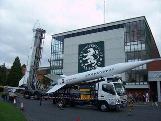 U.K.'s Starchaser Racing Virgin to Space