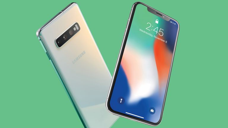iPhone vs Samsung Galaxy S10