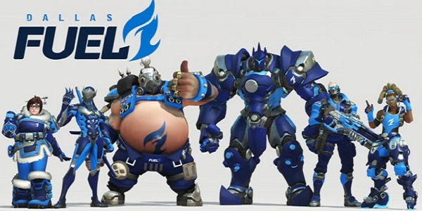 The Dallas Fuel Overwatch League team.