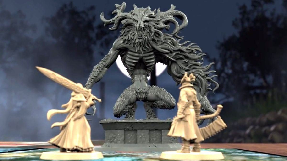 Bloodborne board game Kickstarter raised $1.5 million in its first 24 hours and the hunt is on