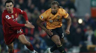Adama Traore Wolverhampton Wanderers