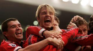 David Beckham Manchester United 1998