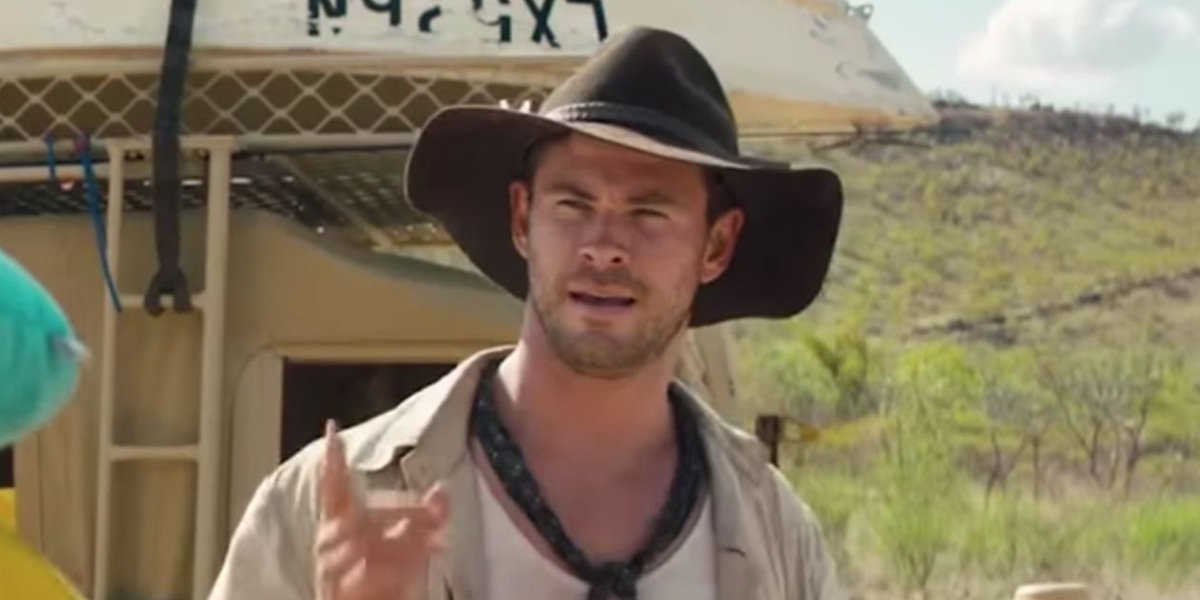 Chris Hemsworth in Tourism Australia: Dundee