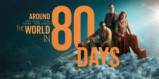 "The first image released of David Tennant's ""Around The World In 80 Days"" on the BBC."