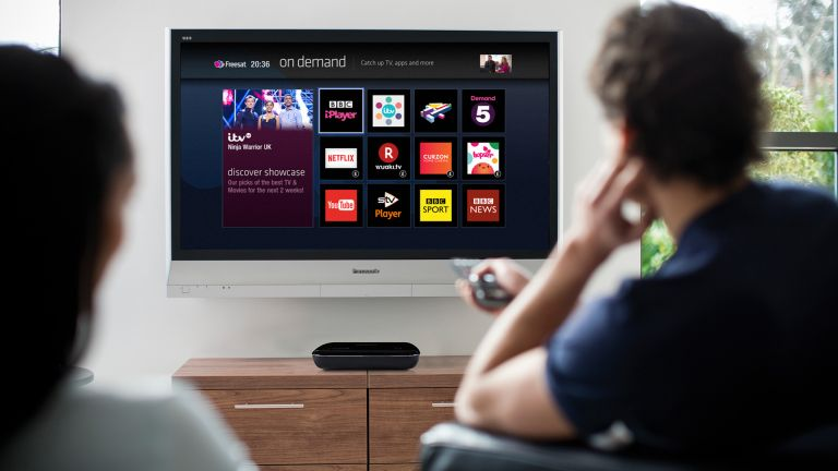 Turn your TV into a 200 channel on-demand powerhouse with the Humax HB-1100S