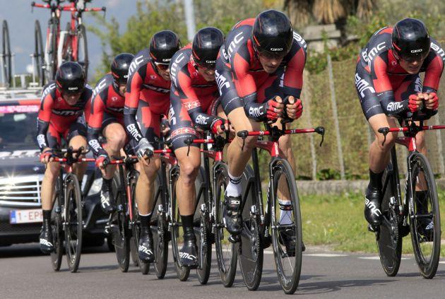 BMC wins team time trial, Giro del Trentino 2014