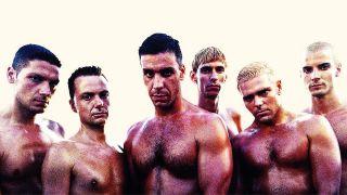 Rammstein's Herzeleid lineup from 1995