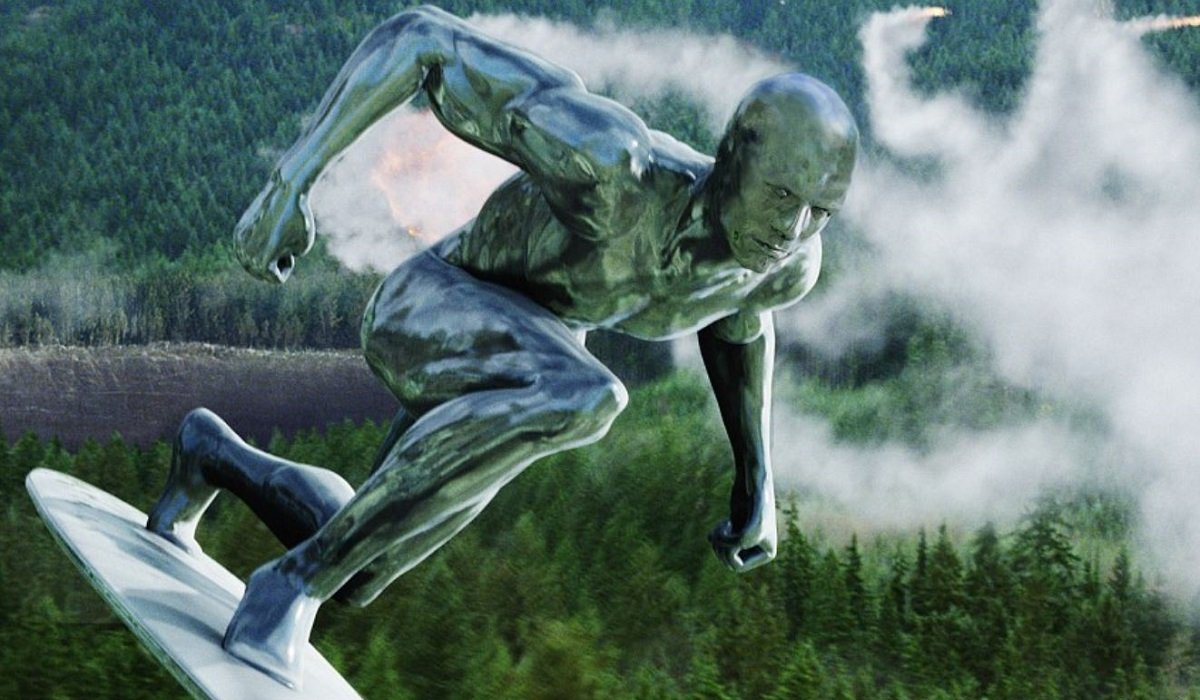 Silver Surfer Fantastic Four: Rise of the Silver Surfer