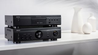 Denon launches 600 Series amp and CD player