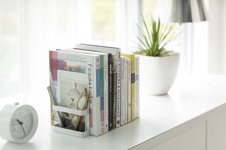 Holiday books and summer reads: Bookends with storage