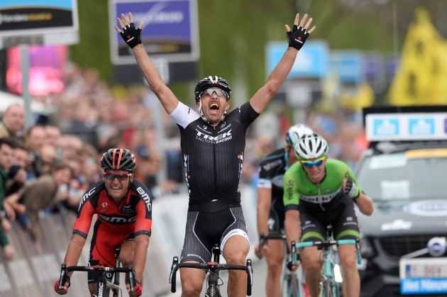 Fabian Cancellara wins Tour of Flanders 2014