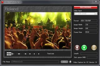 Roland Provides Free Windows Video Capture Software