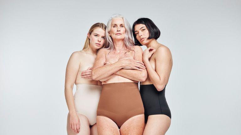 models wearing Heist brand best shapewear