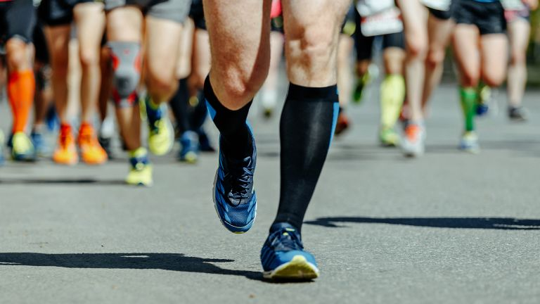 The best compression running socks