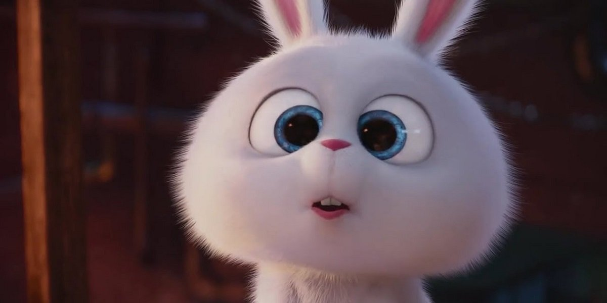 Kevin Hart as Snowball in The Secret Life of Pets