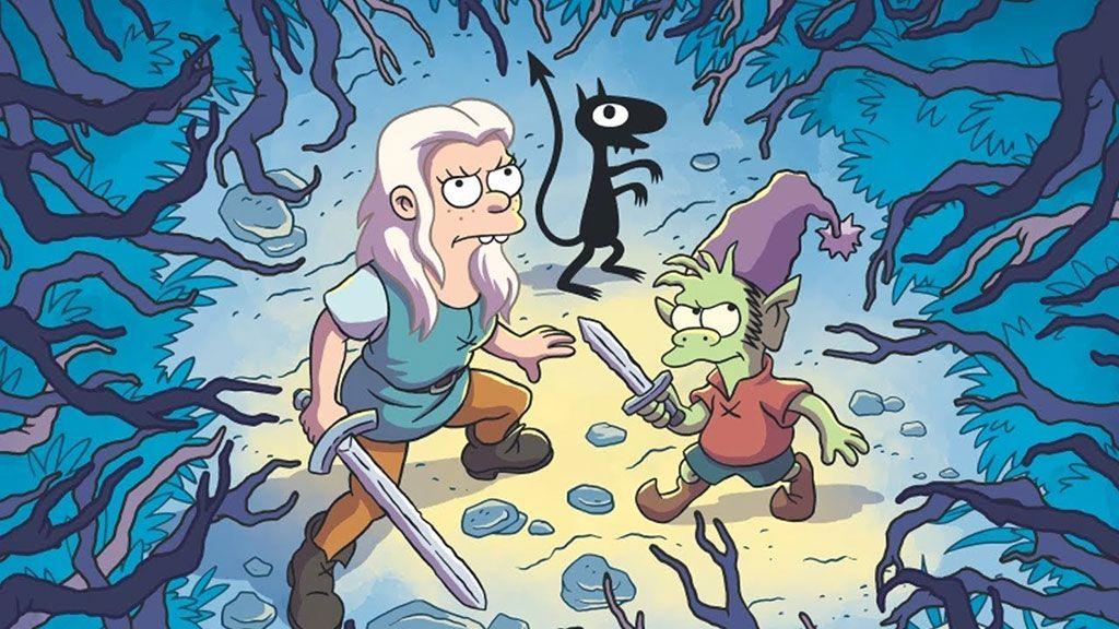 Matt Groening's new Netflix series Disenchantment gets an enchanting first trailer