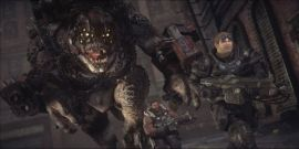 Gears Of War Studio Head Wants To Do A Crossover With Monster Hunter World