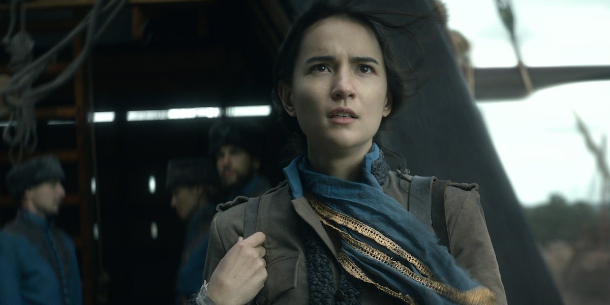 Jessie Mei Lei as Alina Starkov in Shadow and Bone