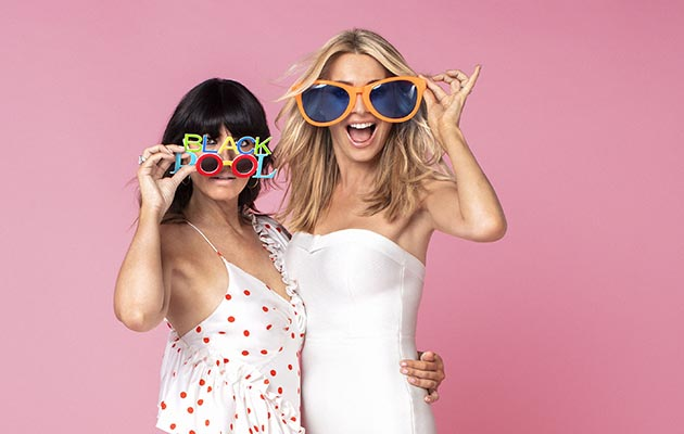Strictly Come Dancing - shows Claudia Winkleman and Tess Daly Saturday 17th November